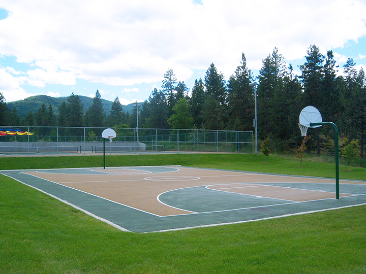 Black Bay Basketball Court
