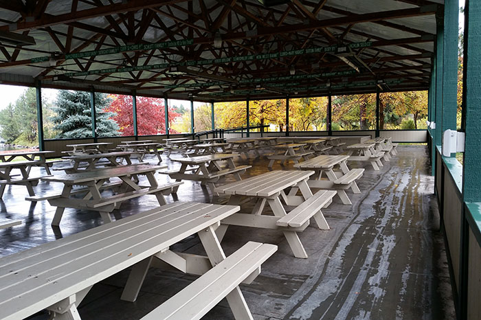 Grand Pavilion Seating