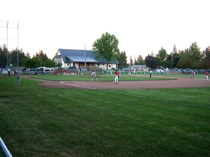 Sportsman Park Baseball game