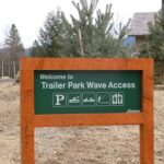 Trailer Park Wave sign