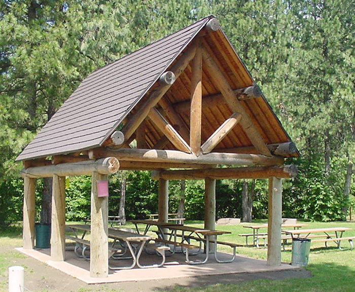 Corbin Park Covered Picnic Area