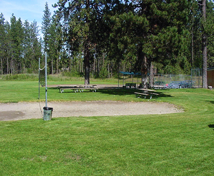 Corbin Park Volleyball area