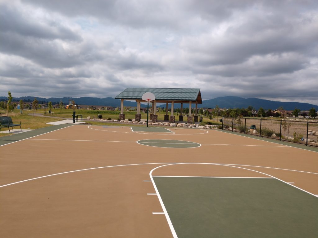 Basketball Court at Tullamore Park