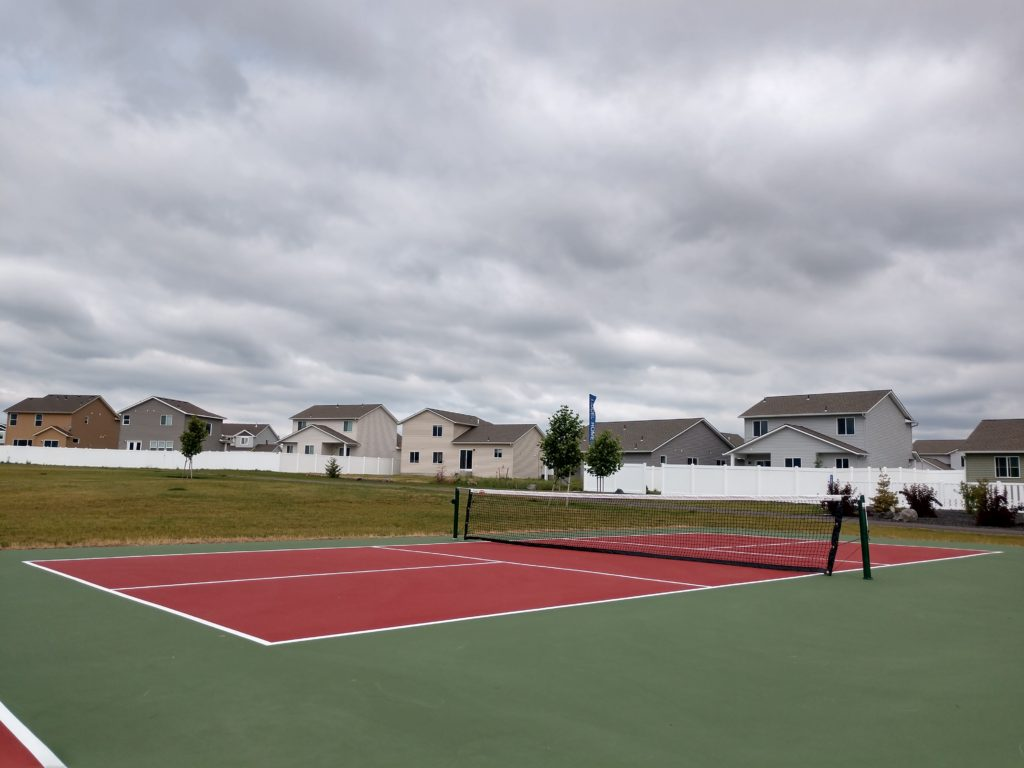 Pickleball Court at Crown Pointe
