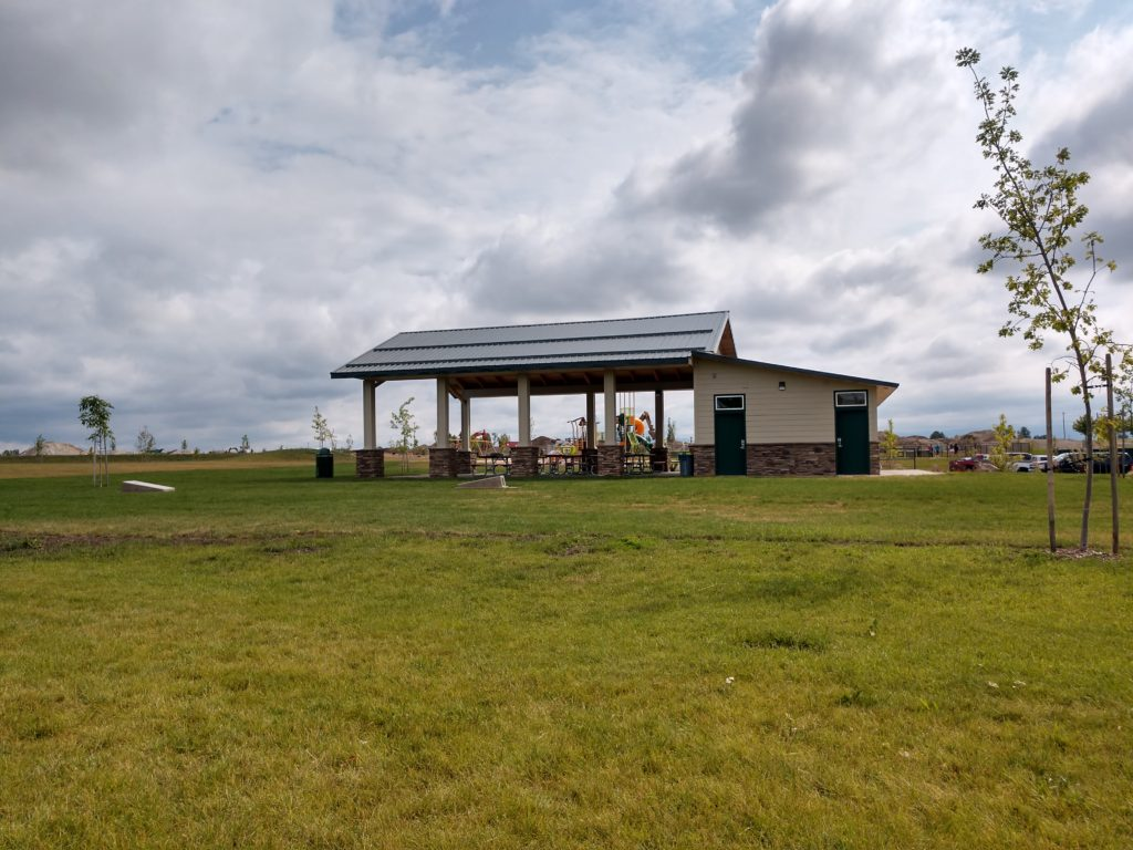 Tullamore Park Picnic Shelter Side View