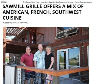 Sawmill Grille opens in Post Falls